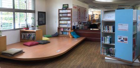 北安圖書館休閒閱讀區